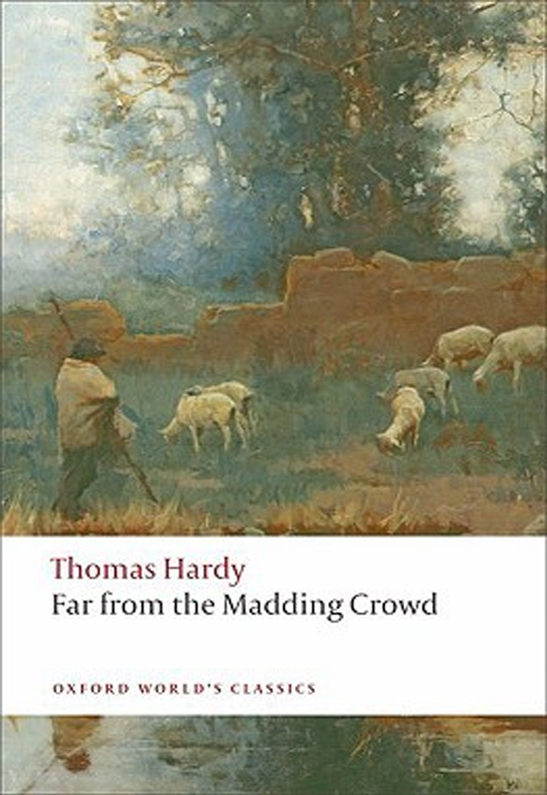 an analysis of far from the madding crowd a novel by thomas hardy Map of locations in the wessex of thomas hardy's novels[public domain], via   in transforming landscapes, and it is by this transformation that meaning is  of  the d'urbervilles, the mayor of casterbridge, and far from the madding crowd.