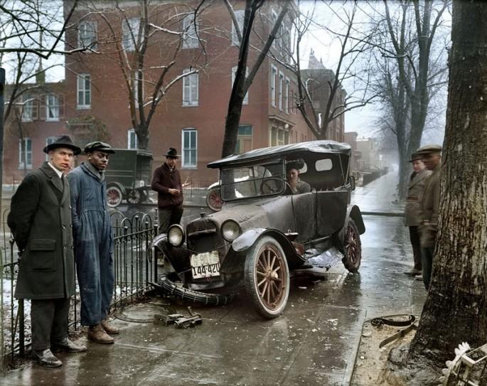 ACCIDENT IN WASHINGTON D.C., ca. 1939