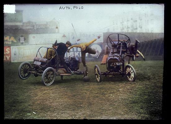 Auto Polo, ca. 1915